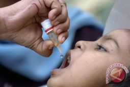 Imunisasi Polio di Waykanan targetkan 46.792 balita