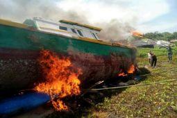 Korem Gatam dukung pemusnahan kapal pengebom ikan