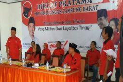 PDI Perjuangan Lampung Barat Gelar Diklat Kader