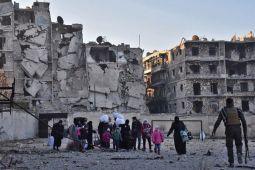 Di Aleppo yang hancur lebur, musik tradisional kembali bergema