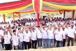 Koalisi Lampung Barat Hebat Lantik Tim Pemenangan