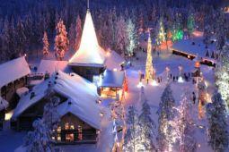 Lapland, kampung Sinterklas