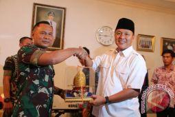 Pangdam Sriwijaya Apresiasi Program Ronda Bupati Lamteng