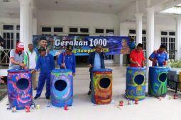 Lampung Tengah Gulirkan Gerakan 1.000 Tong Sampah