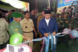 Bupati Lampung Tengah Resmikan Jalan Tembus antarkecamatan