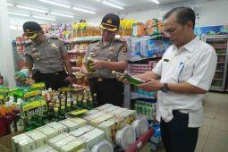 Sejumlah Produk Tak Layak Jual di Lampung Tengah Disita