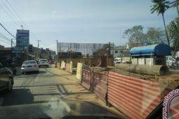 Pembangunan jalan layang dilanjutkan
