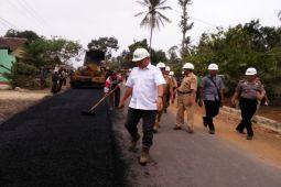 Pemkab Lampung Tengah Bangun Jalan Kecamatan Seputihagung