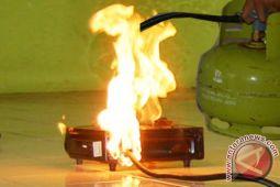 Seorang Terbakar Diduga Terkena Ledakan Tabung Gas