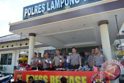 Polres Lampung Timur Ungkap 58 Kasus Kriminalitas
