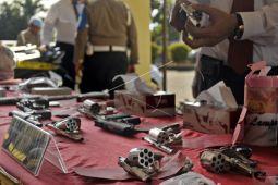 Polda Lampung Ungkap 60 Kasus Kriminal Umum