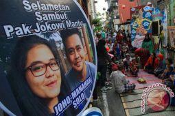 Relawan Lampung Ramaikan Pernikahan Anak Presiden Jokowi