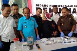 BNNP Lampung Musnahkan Tujuh Kilogram Sabu-sabu