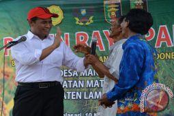 Pemprov Lampung Paparkan Peningkatan Produksi Pertanian