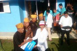 Menteri BUMN Kunjungi Rumah Veteran Di Lampung