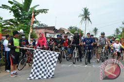 Ratusan Peserta Ikuti Fun Bike  Way Kambas