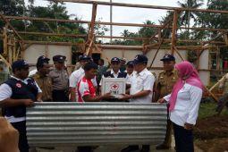 PMI Lampung Timur Bantu Korban Puting Beliung