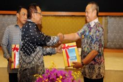 Wagub Lampung Terima Laporan Hasil Pemeriksaan BPK