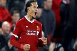 Van Dijk tentukan kemenangan Liverpool