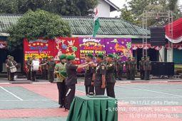 Burhanuddin Jabat Dandim 0411 Lampung Tengah