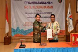 Pemprov Lampung Perkuat Infrastruktur Konektivitas