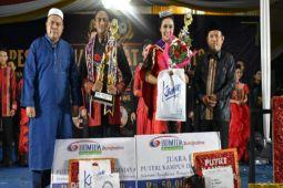 Agung-Helaria Juarai Putra Putri Kampus Darmajaya 2018