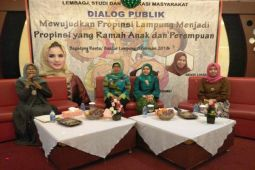 Pemprov Lampung Terus Upayakan Cegah Kekerasan Anak-Perempuan