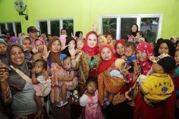 Yustin Ficardo Sosialisasikan Kurang Gizi di Lampung Tengah