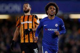 Chelsea hancurkan Hull  City 4-0