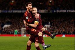 12 tahun menunggu, Messi akhirnya bobol gawang Chelsea
