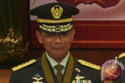 KSAD  ke Lampung dan lihat latihan Ancab di Baturaja