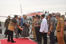 Queen Maxima from Nederland visits Lampung