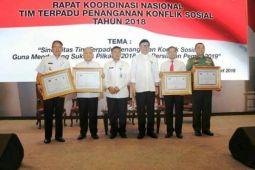 Lampung Kembali Raih Provinsi Terbaik Penanganan Konflik Sosial