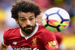 Empat gol Salah antar Liverpool ke peringkat tiga