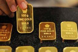 AS bakal naikkan suku bunga, harga emas turun