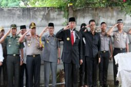 Pjs Gubernur pimpin upacara pelepasan Syamsurya Ryacudu