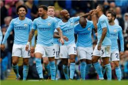 Manchester City dominasi tim terbaik versi PFA