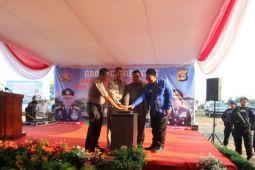 Pembangunan markas Polda Lampung dimulai