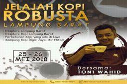Jelajah kopi Lampung Barat bersama Toni Wahid