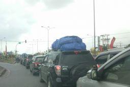Arus balik mulai ramai di Jalinsum Lampung