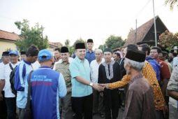 Ridho Ficardo Minta Restu-Dukungan Warga Sukadana Lampung Timur