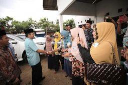 Ridho Ficardo Halalbihalal dengan Warga Punggur Lampung Tengah