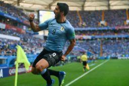 Suarez bawa Uruguay ke 16 besar Piala Dunia