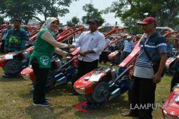 Petani Lampung Timur dapat bantuan 487 traktor tangan