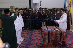 Gubernur Lampung lantik Bupati Lampung Tengah