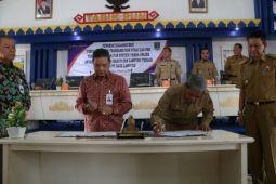 Pemkab Lampung Tengah jalin kerja sama dengan Bank Lampung