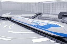 Kereta terbang China melaju 1.000 km per jam