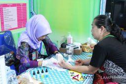 Yuk cek golongan daerah gratis di Lampung Fair