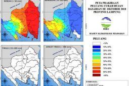 BMKG Prakirakan Peluang Hujan di Lampung