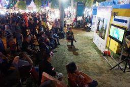 Nobar Timnas U-19 di Lampung Fair